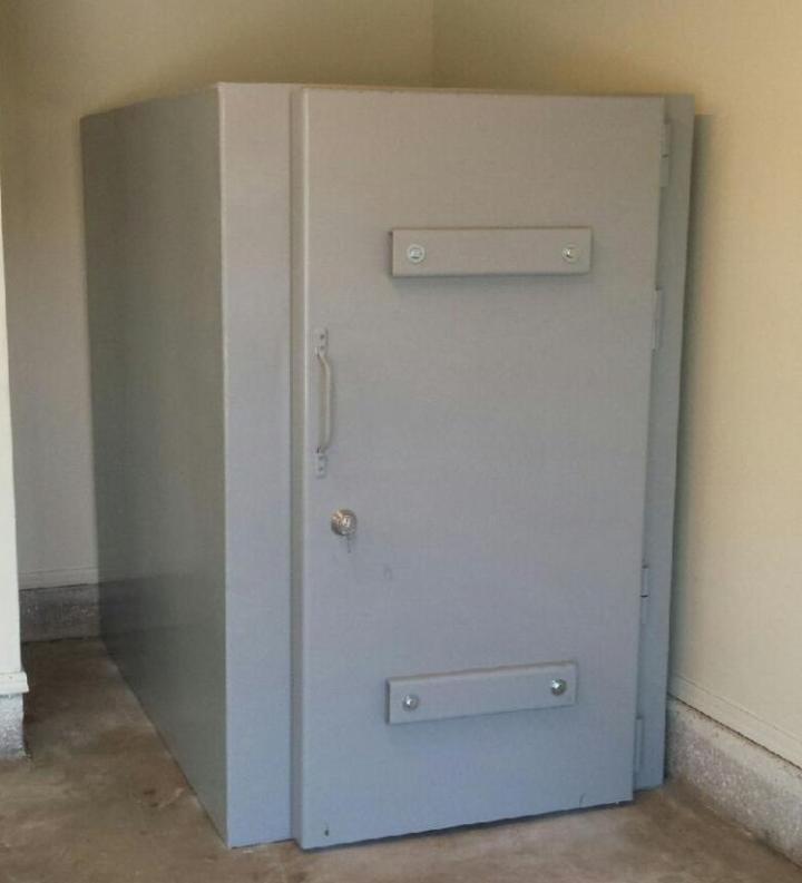 Storm shelters we can install your shelter in a few weeks for Safe room
